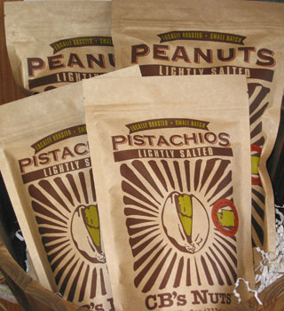 Locally Made CB's Peanuts and Pistachios